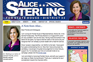 Alice Sterling Political Campaign