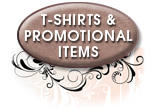 Click to view t-shirt and other promotional item samples.